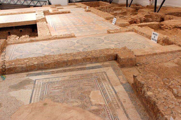Vestigios romanos en palencia villas de la olmeda y la for Villas romanas