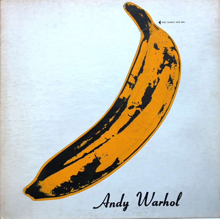 Andy Warhol - Portada del disco 'The Velvet Underground 